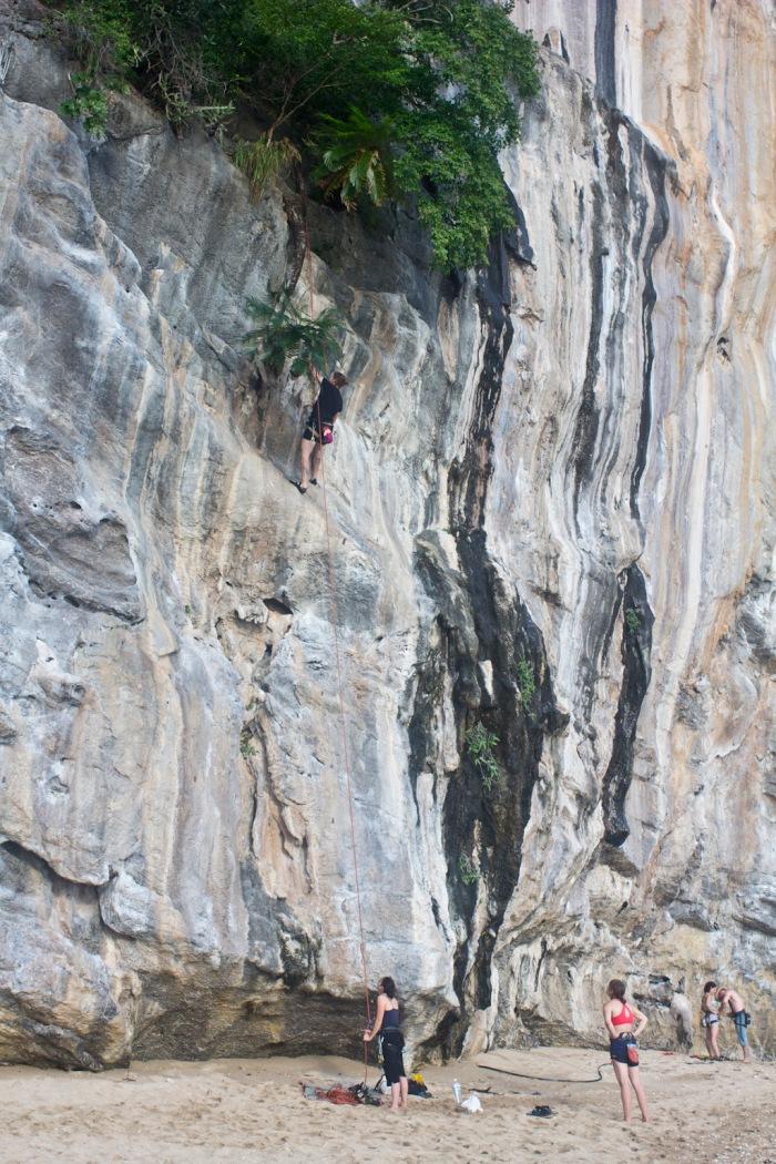 Me Climbing ©Jasmin