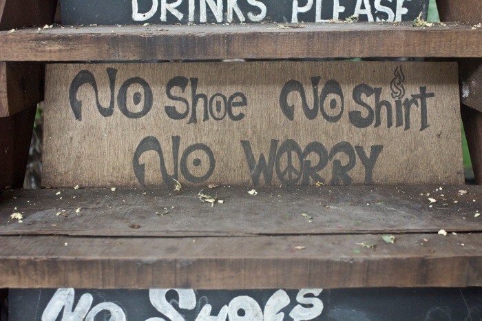 A good motto for the place