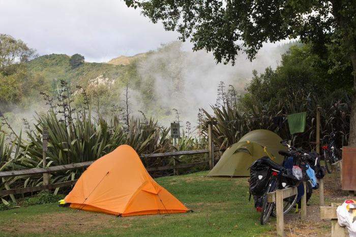Waikite Valley campsite