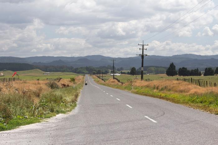 Downhill for a few kilometers