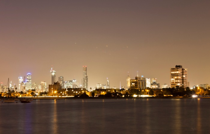 Melbourne from St Kilda